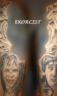 Exorcist half sleeve