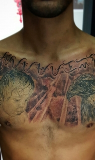 Gavin chest piece