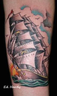 Ed Hardy ship