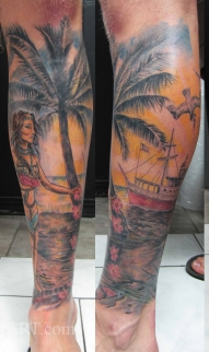 Florida leg sleeve